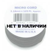 Паракорд Atwoodrope 1.18мм х 125 Micro Cord 38м yellow