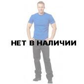 Футболки мужские, короткий рукав, 160гр/м.кв., 100% хлопок (цв.васил.)