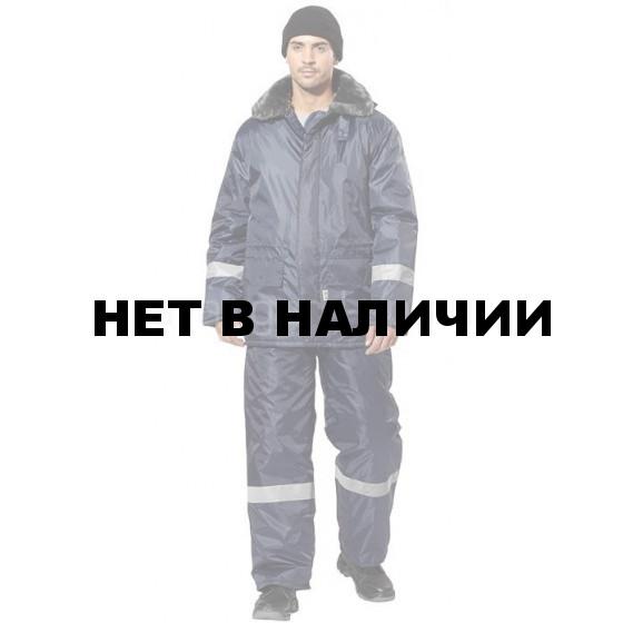 Костюм Мороз утепленный (т.син.)