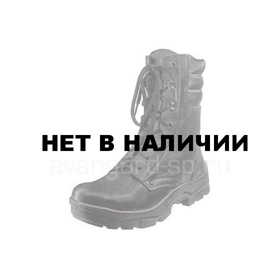 Ботинки Охотник Зима, хром, натуральный мех, система противоскольжения