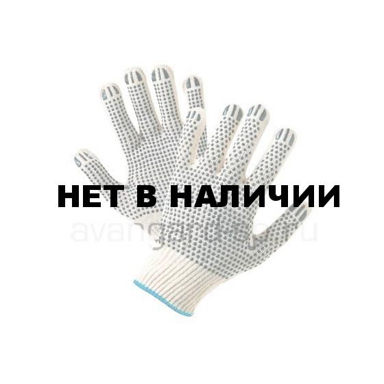 Перчатки х/б с ПВХ 2-сторонние