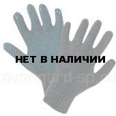 Перчатки полушерстяные с ПВХ