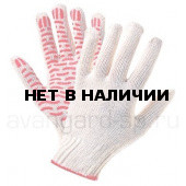 Перчатки х/б с ПВХ (10 класс) Волна