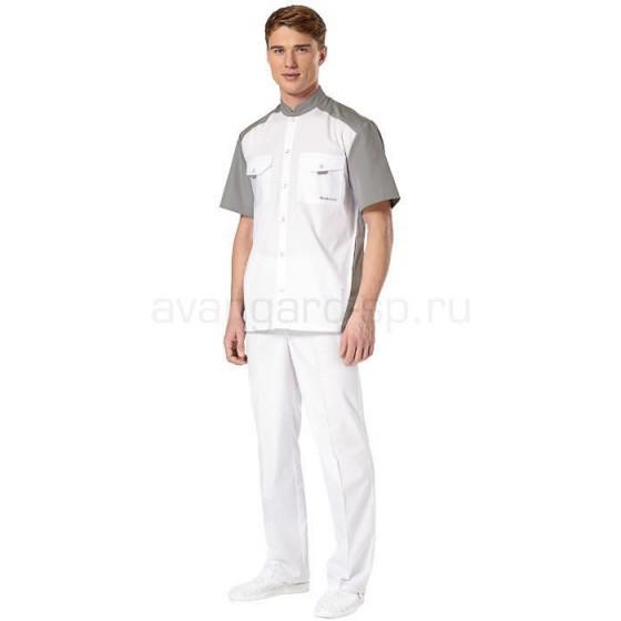 Комплект одежды медицинской мужской Интерн(куртка и брюки)
