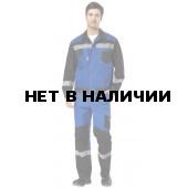 Костюм Гудзон, ткань смесовая с брюками (черн.+вас.)