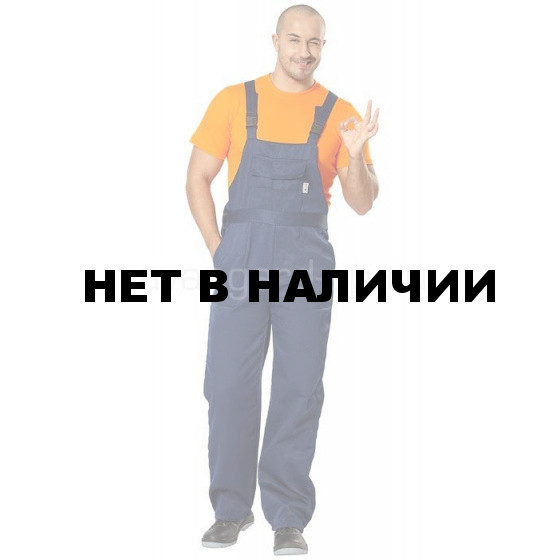 Полукомбинезон Профессионал т/синий (ткань смес) РАСПРОДАЖА