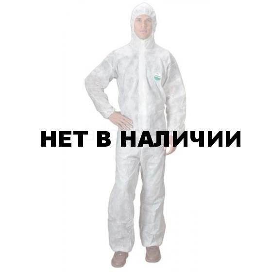 Комбинезон одноразовый ЗонГАРД белый р.3ХL (Х50)