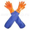 Перчатки рыбообработчика с пришивным нарукавником