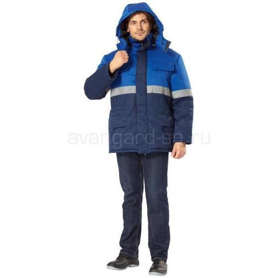 Куртка Орион утепленная (т.син.+вас.)
