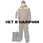 Костюм Лес утепленный (сер.+оранж.)