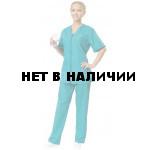 Комплект одежды медицинской женской Ксения(блуза и брюки)
