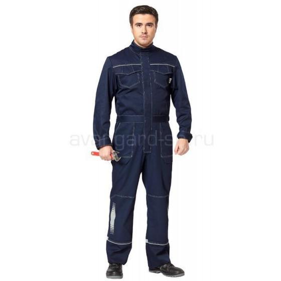 Комбинезон Блиц New, ткань смесовая (синий)