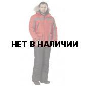 Куртка Формат утепленная цвет красный+графит