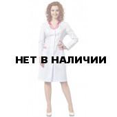 Халат женский L1101 (мал-роз)
