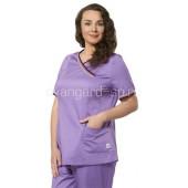 Блуза женская LF2106-2 (горная лаванда) Plus Size