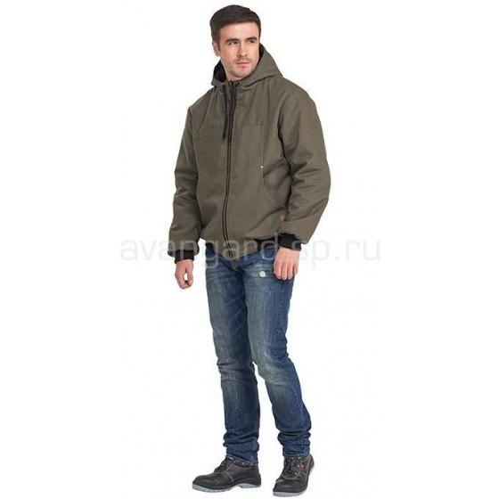 Куртка Бомбер мужская демисезонная двухсторонняя
