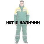 Костюм Монтажник NEW-L утепленный (зел.+желтый)