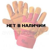 Перчатки РУССКИЕ ЛЬВЫ спилковые комбинированные