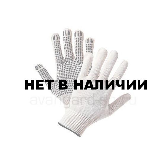 Перчатки х/б с ПВХ ПРОФИ