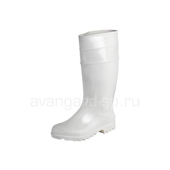 Сапоги ПВХ мужские КЩС НМС (белые)
