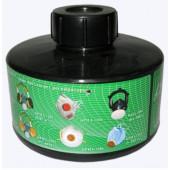 Коробка противогазная малого габарита КД(К1)