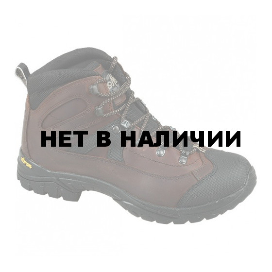 Ботинки трекинговые Lomer Fiemme brown/black