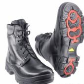 Зимние ботинки с высокими берцами ПИЛОТ кожа-овчина ALPI ROTOR 131