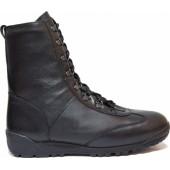 Штурмовые ботинки городского типа КОБРА ZIP кожа 12211