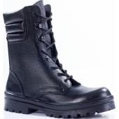 Ботинки с высокими берцами ОМОН кожа 901