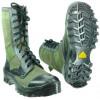 Ботинки облегченные с высокими берцами ТРОПИК олива кожа-брезент-нейлон 1000D 335