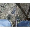 Летние штурмовые ботинки городского типа МАНГУСТ велюр-замша 24041