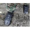 Демисезонные ботинки с высокими берцами ГРАД кожа 3402