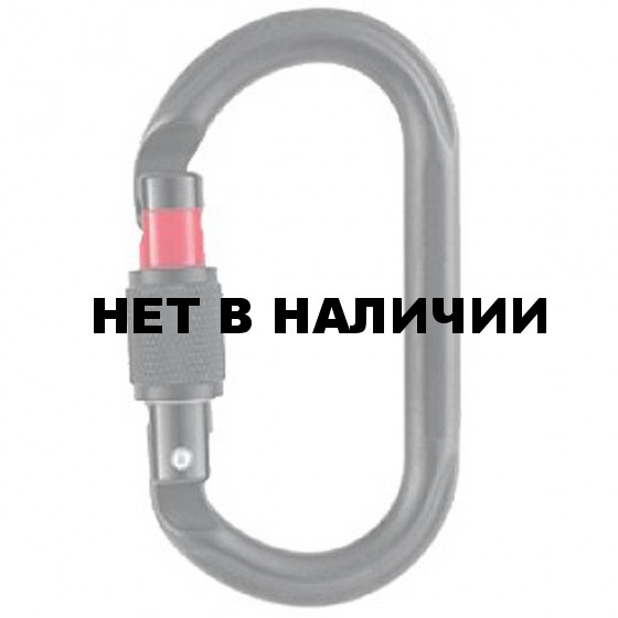 Карабин OXAN Screw-lock black(Petzl)