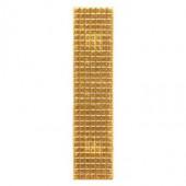 Знак различия МВД 10х45 (лычка) золотой металл