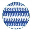Тельняшка двойной вязки синяя