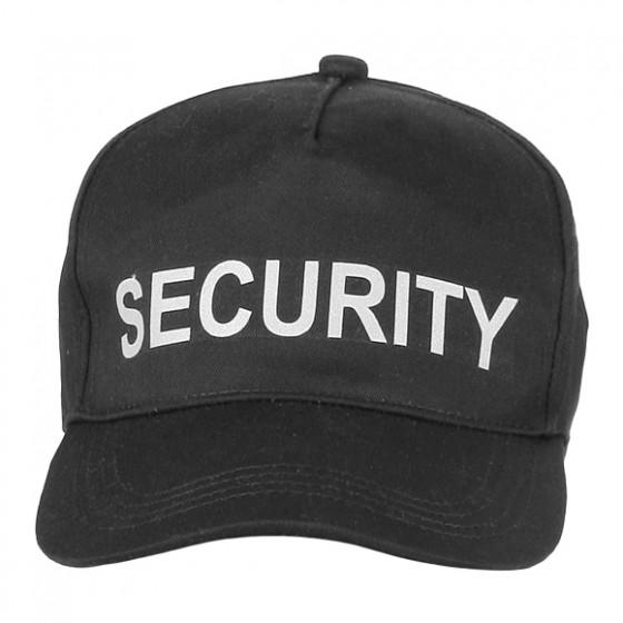 Бейсболка Security черная