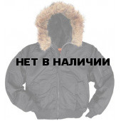 Куртка Hooded Ma-1 Black Alpha Industries