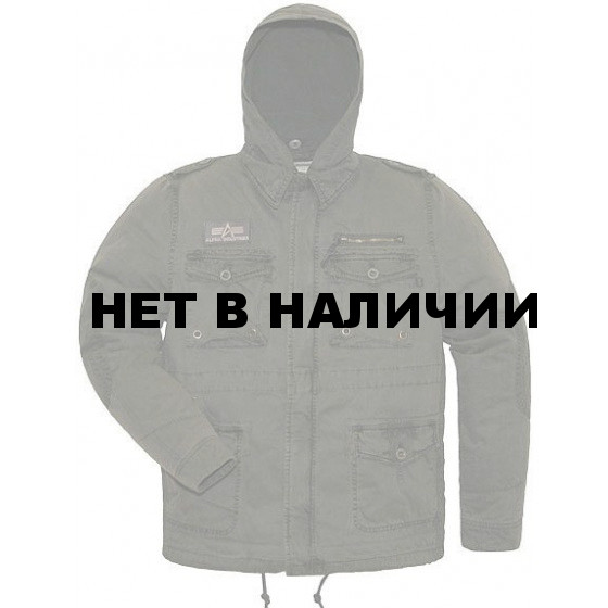 Куртка Wooly Mcgyver Black Alpha Industries