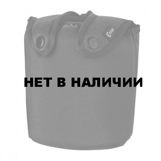 Подсумок для фляги US (термос) черный