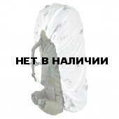 Накидка на рюкзак без швов белый 30-50 л