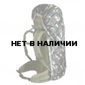 Накидка на рюкзак без швов лес 30-50 л
