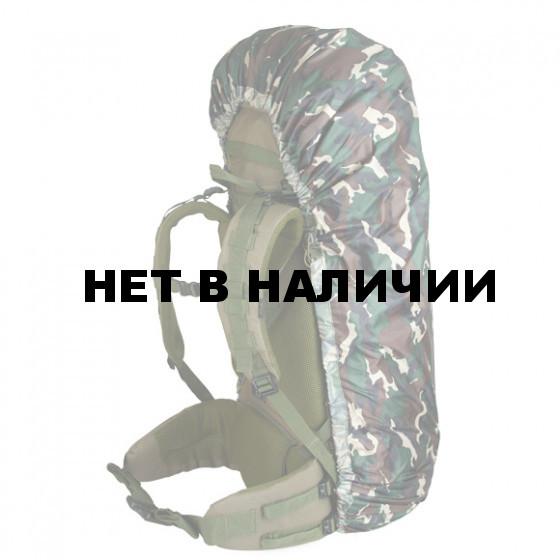Накидка на рюкзак без швов flecktarn 90-130 л