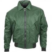 Куртка Штурман зеленая твил