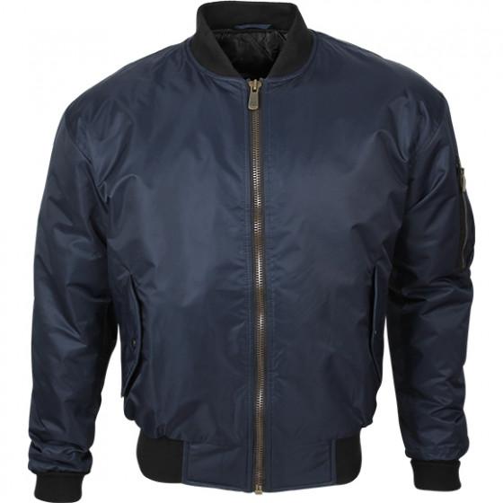 Куртка Пилот синяя твил