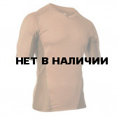 Термобелье футболка EF Shirt Short Sleeve Vneck Coyote Tan BLACKHAWK XL