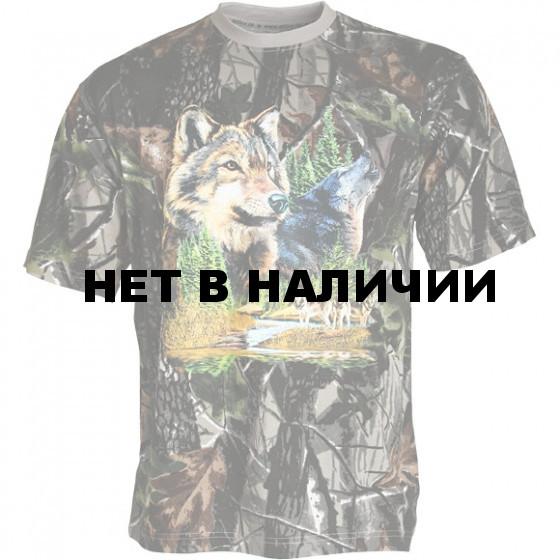 Футболка сувенирная (Волки) Hunter