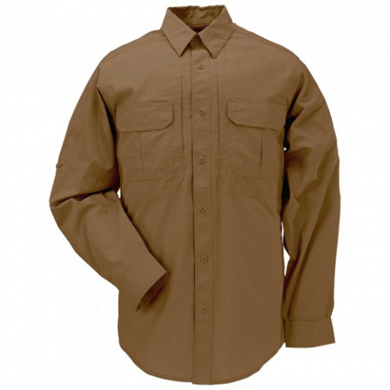 Рубашка 5.11 Taclite Pro Long Sleeve battle brown