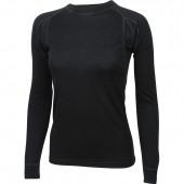 Термобелье жен Comfort футболка L/S Merino wool черная