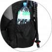 Рюкзак Saiber 90 черный/серый