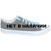 Кеды PW-H003 черно/голубые